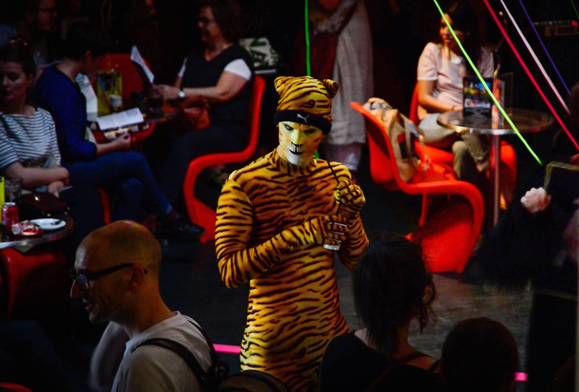 Gareth Cutter Tiger